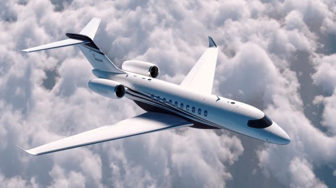 Wings over kansas for Large cabin business jets